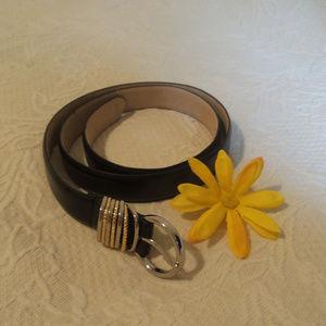 Accessories - Genuine leather black belt